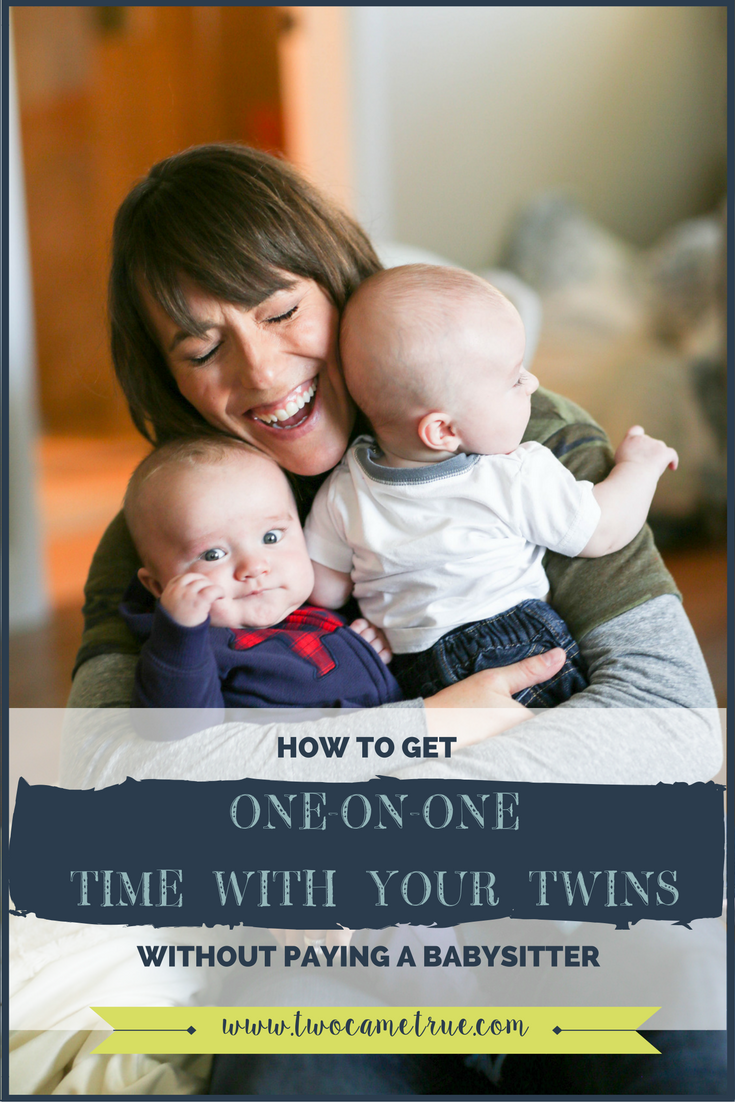 how to get one-on-one time with your twins without paying a babysitter