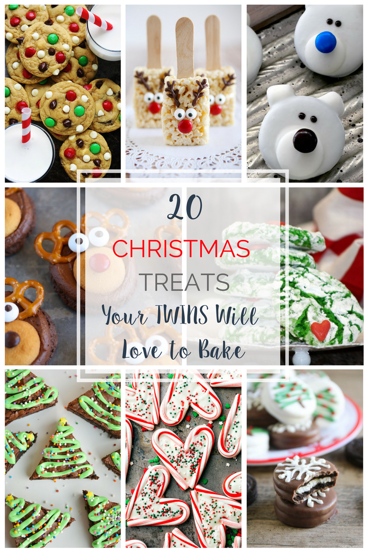 25 christmas treats your twins will love to bake