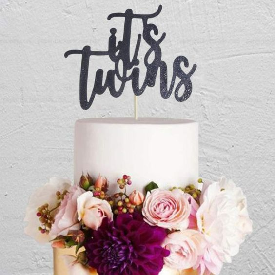 Two Came True | Twin Baby Shower Themes